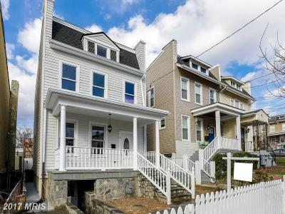 Washington Single Family Home For Sale: 405 Upshur Street NW