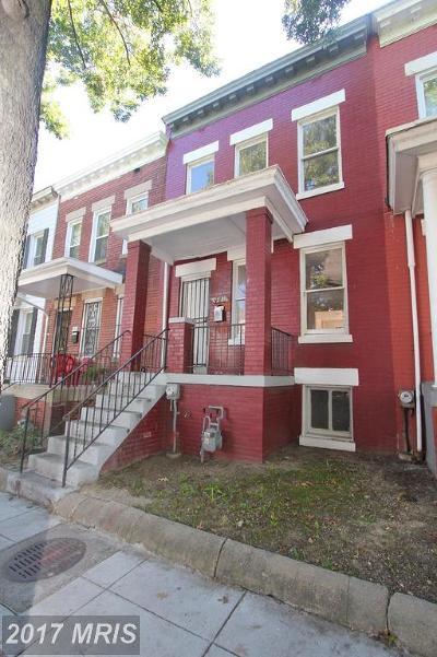 Washington Condo For Sale: 440 Irving Street NW