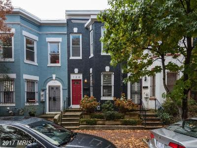 Washington Townhouse For Sale: 124 Bates Street NW