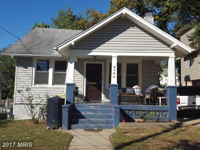 Washington Single Family Home For Sale: 2904 26th Street NE