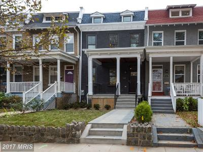 Washington DC Townhouse For Sale: $939,000