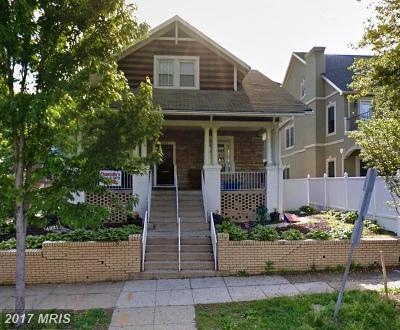 Washington Single Family Home For Sale: 4221 7th Street NW