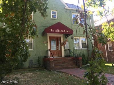 Washington Condo For Sale: 240 Hamilton Street NW #3