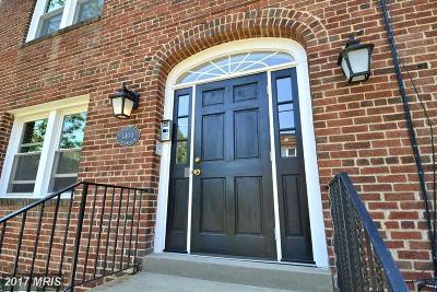 Washington Condo For Sale: 1400 Oglethorpe Street NW #5