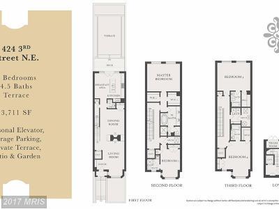 Washington Townhouse For Sale: 430 3rd Street NE