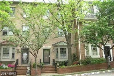 Washington Townhouse For Sale: 4448 Westover Place NW