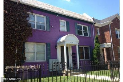 Washington Condo For Sale: 1240 18th Street NE #1