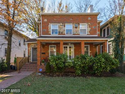 Single Family Home For Sale: 608 Whittier Street NW