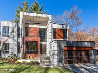 Single Family Home For Sale: 2715 Tennyson Street NW