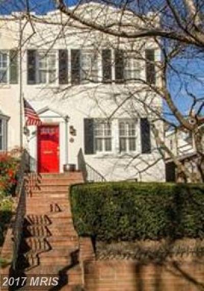 Washington Townhouse For Sale: 3301 Dent Place NW