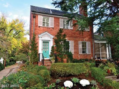 Washington DC Single Family Home For Sale: $985,000