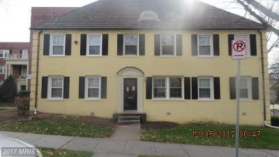 Washington DC Single Family Home For Sale: $114,900