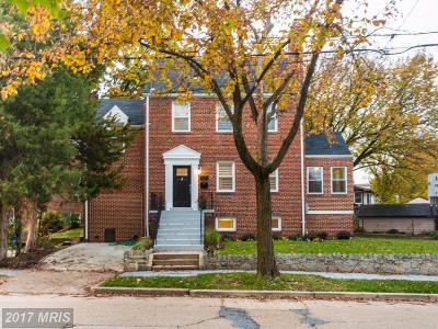 Washington DC Single Family Home For Sale: $820,000