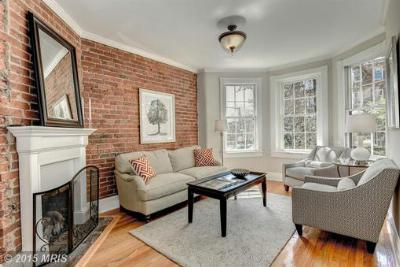Washington DC Townhouse Sold: $839,000