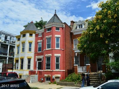 Columbia Heights, Columbia Heights/U St Townhouse For Sale: 2619 University Place NW