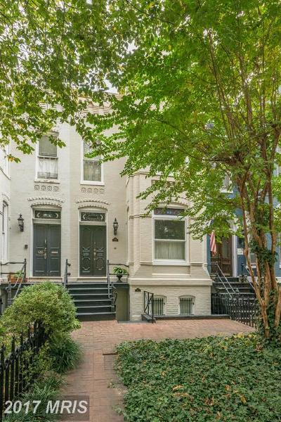 Capital Hill, Capitol Hill, Capitol Hill North, Capitol Hill Tower, Capitol Square At The Waterfront Single Family Home For Sale: 428 New Jersey Avenue SE