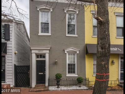 Georgetown Single Family Home For Sale: 1207 Potomac Street NW