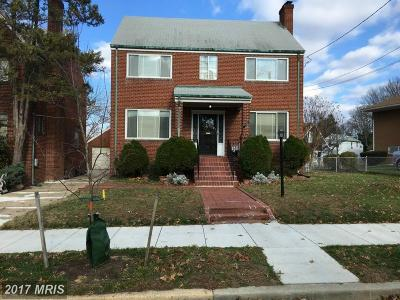 Washington Single Family Home For Sale: 1526 Channing Street NE