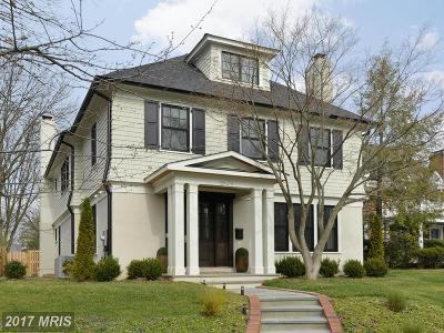 Chevy Chase Single Family Home For Sale: 6517 Barnaby Street NW