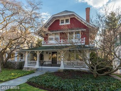 Cleveland Park Single Family Home For Sale: 2946 Newark Street NW