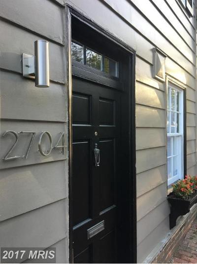 Washington Condo For Sale: 2704 P Street NW