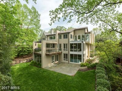 Single Family Home For Sale: 2946 Chain Bridge Road NW