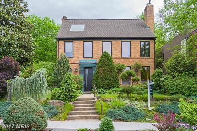 Washington Single Family Home For Sale: 2355 Nebraska Avenue NW