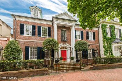 Washington Single Family Home For Sale: 3306 O Street NW