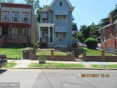 Washington DC Single Family Home For Sale: $469,000