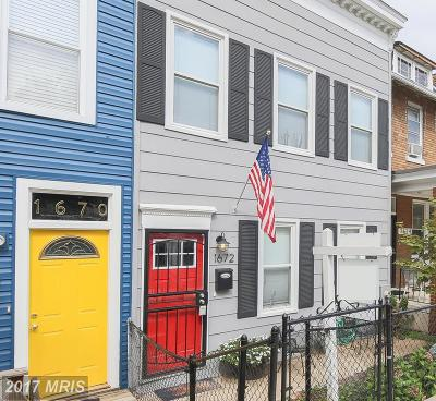 Washington Condo For Sale: 1672 Montello Avenue NE