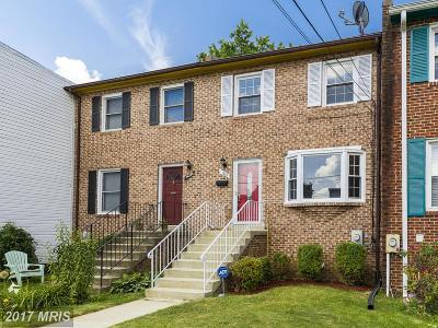 Washington Townhouse For Sale: 1423 22nd Street SE