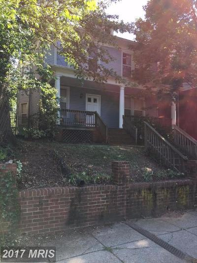 16th Street Heights Single Family Home For Sale: 1214 Madison Street NW