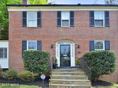 Washington Single Family Home For Sale: 1610 Juniper Street NW