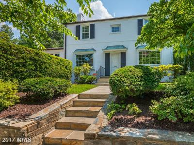 Washington Single Family Home For Sale: 4301 48th Street NW