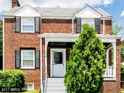 Brightwood Single Family Home For Sale: 405 Quackenbos Street NW