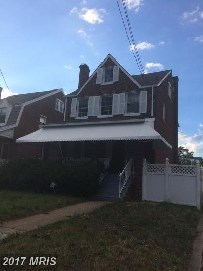 16th Street Heights Single Family Home For Sale: 1305 Hamilton Street NW