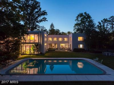 Single Family Home For Sale: 3125 Chain Bridge Road NW