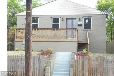 Single Family Home For Sale: 5307 E Street SE