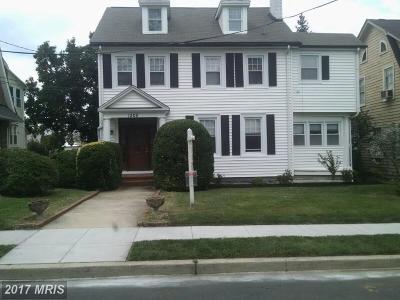 Washington Single Family Home For Sale: 1305 Holly Street NW