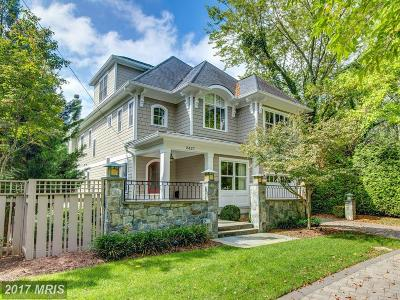 Single Family Home For Sale: 2427 Chain Bridge Road NW