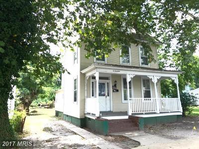 Dorchester Single Family Home For Sale: 214 Choptank Avenue