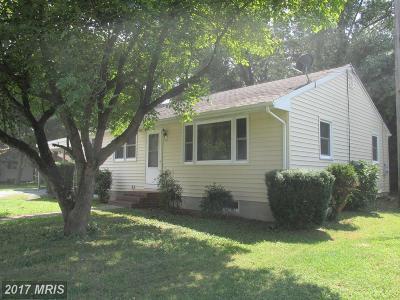 Hurlock Single Family Home For Sale: 304 Noble Street