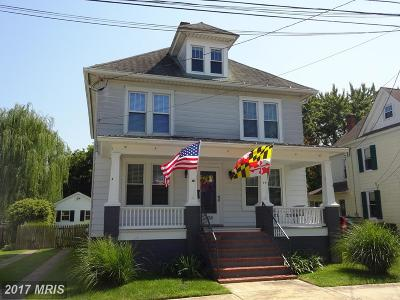 Cambridge Single Family Home For Sale: 104 West End Avenue
