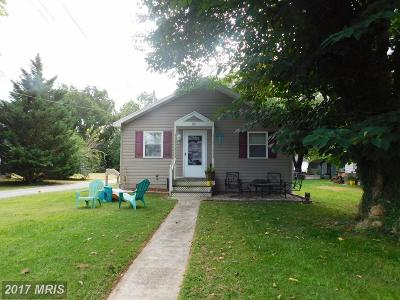 Cambridge MD Single Family Home For Sale: $164,900