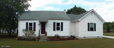 Hurlock Single Family Home For Sale: 4308 Beulah Road