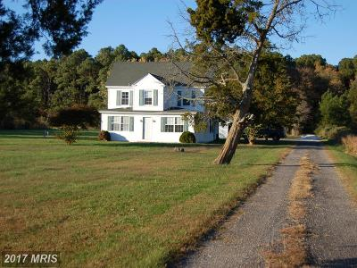 Cambridge Single Family Home For Sale: 1622 Town Point Road