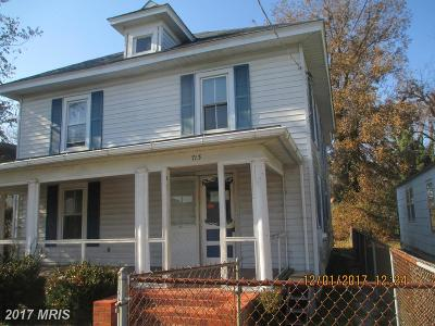 Cambridge Single Family Home For Sale: 713 Meadow Avenue
