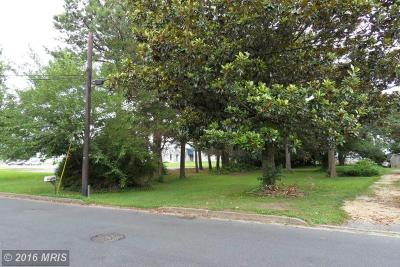 DORCHESTER COUNTY, Dorchester Residential Lots & Land For Sale: Charles Street