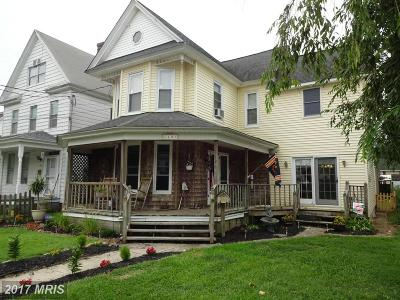 Dorchester Single Family Home For Sale: 403 Maryland Avenue