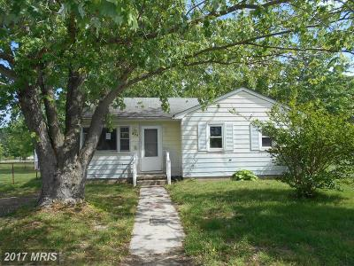 Cambridge MD Single Family Home For Sale: $46,900